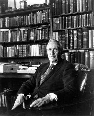 Jacques Barzun, man of letters, fixer.