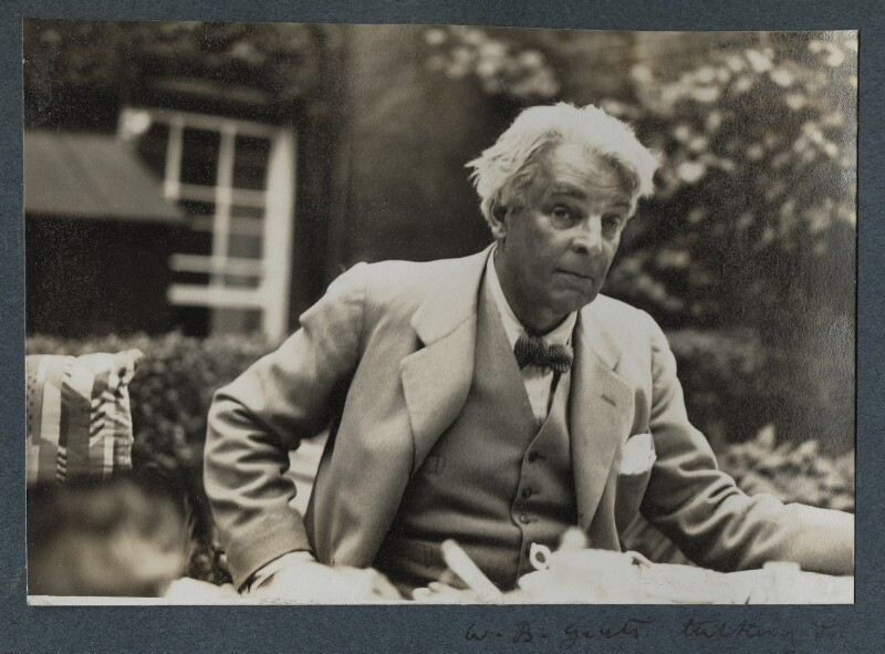 William Butler Yeats, by Lady Ottoline Morrell, 1935 - NPG Ax143873 - © National Portrait Gallery, London