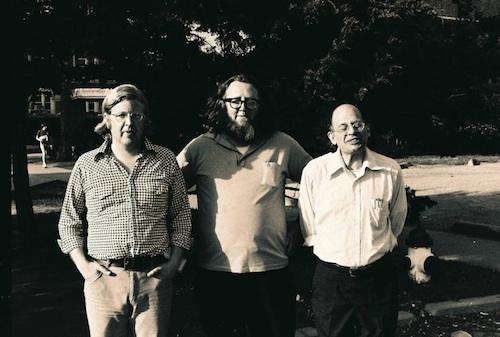 Madison Morrison, Ted Berrigan, Allen Ginsberg