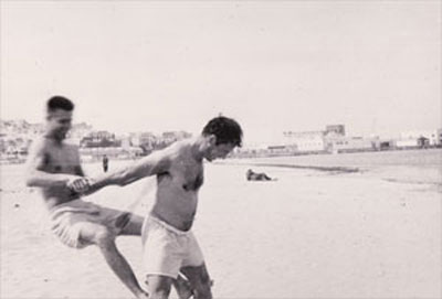 Peter Orlovsky and Jack Kerouac