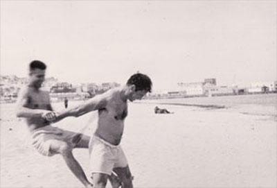 Peter Orlovsky and Jack Kerouac