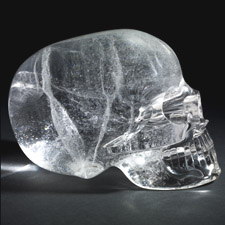 The British Museum crystal skull
