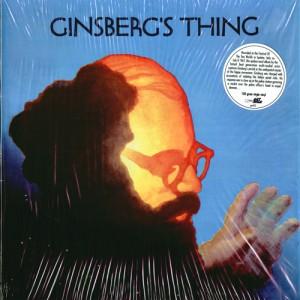 Allen Ginsberg - Ginsberg's Thing - album cover