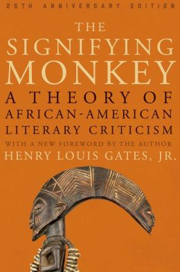 Cover, The Signifying Monkey: A Theory of African-American Literary Criticism (1988)