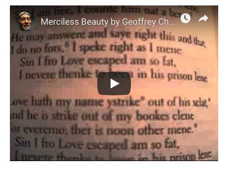 chaucer merciless beauty