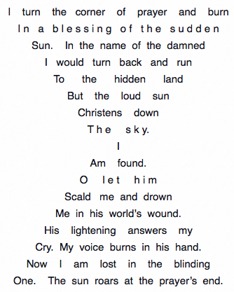 Pattern Poems - 2 (Dylan Thomas) - The Allen Ginsberg Project