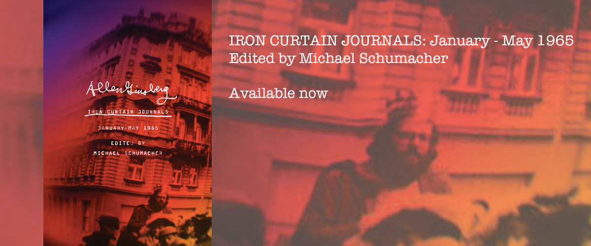 New Book - Allen Ginsberg's Iron Curtain Journals