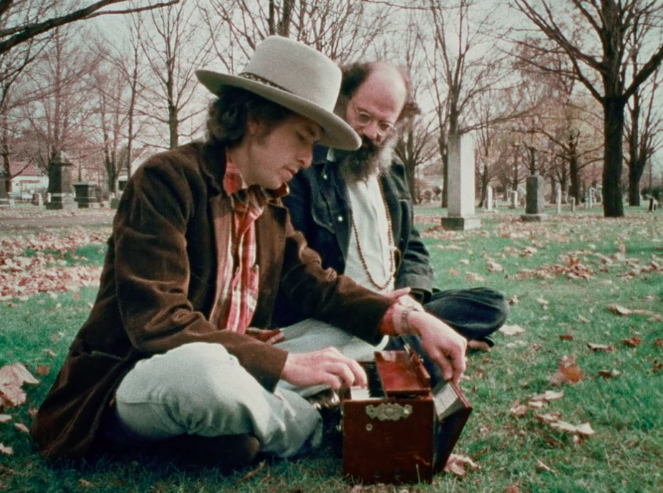 Bob Dylan on Allen Ginsberg (Songwriting) - The Allen Ginsberg Project