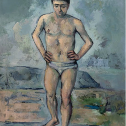 Bather Cezanne
